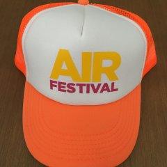 AIR Festival čepice - oranžová