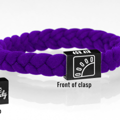 Wristbands purple