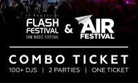 COMBO ticket FLASH Festival + AIR Festival